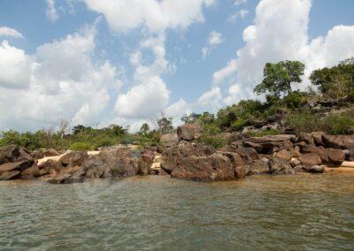 """Acryl: Rio Xingu """"Cachoeira do Tapaiunas"""""""